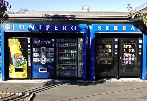 Junipero Serra High School - vending vinyl