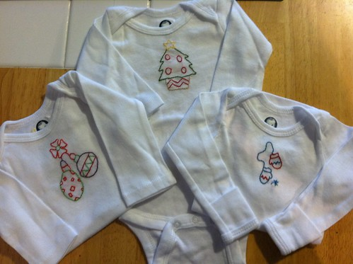 christmas onesies: upcoming give-away