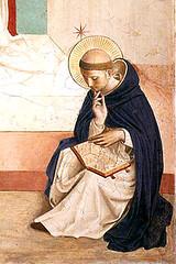 Beato Angélico (1440), Santo Domingo