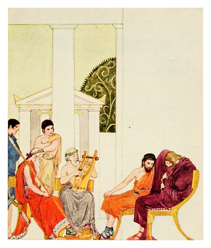 021-The adventures of Odysseus and the tale of Troya 1918- ilustrado por Willy Pogany