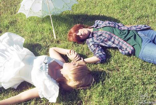 Sakura & Syaoran Summer version - TRC 6483452849_d4bbbc77fd