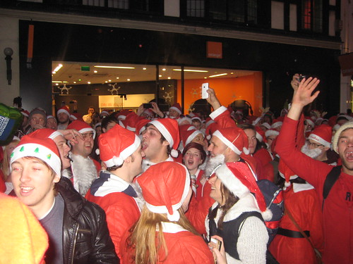 Santa Sing-a-long - Santacon 2011