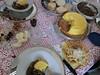 torta di mais con funghi e Lasagne fatte in casa