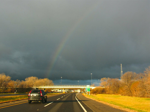 Rainbow over the Toll Road