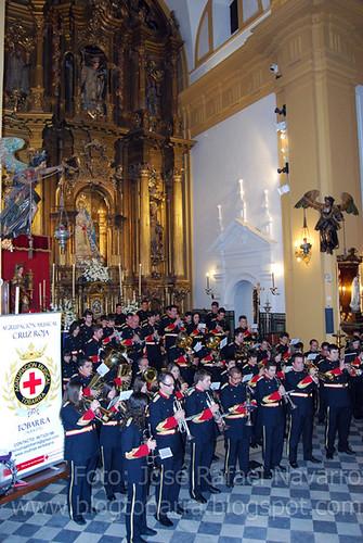 Concierto de la A.M Cruz Roja en Sevilla