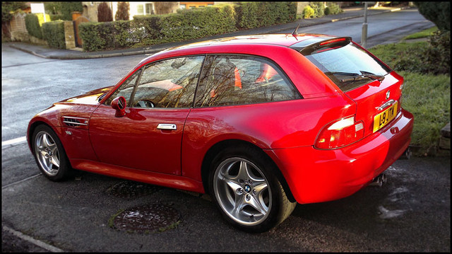 1999 M Coupe | Imola Red | Imola/Black