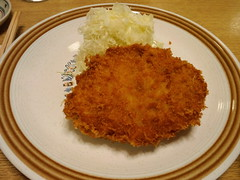 meal, tonkatsu, panko, fried food, korokke, schnitzel, food, dish, cuisine, potato pancake,