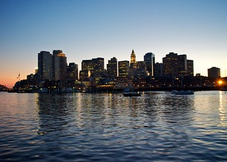 Dusky Boston (from the water)
