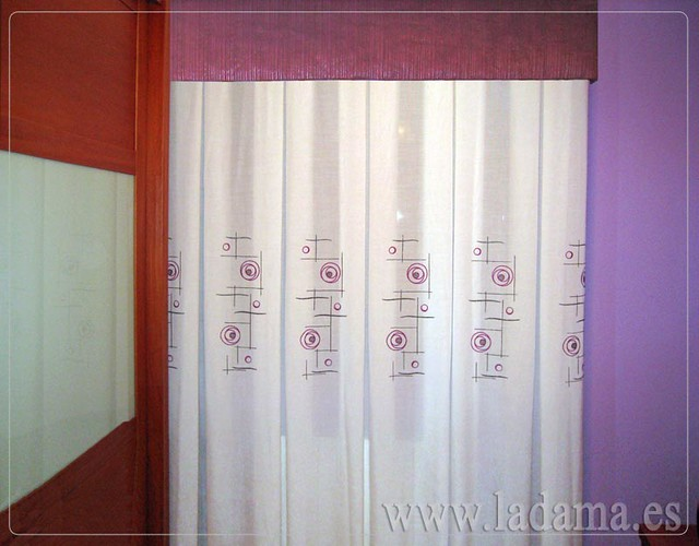 Decoraci n para dormitorios cl sicos cortinas con dobles - Colchas y cortinas modernas ...