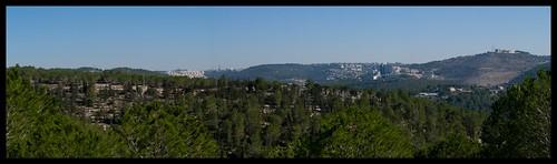 panorama jerusalem sataf tzoba