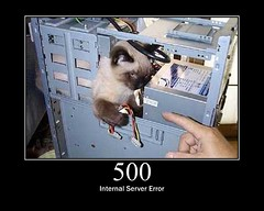 500 - Internal Server Error
