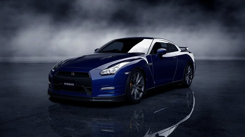 Nissan GT-R Black edition '12_73Front