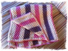Nina's blanket.