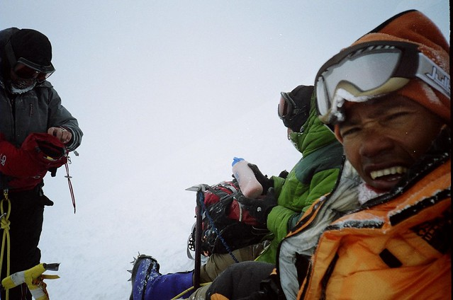 Post-summit picture of Mt. Denali climb