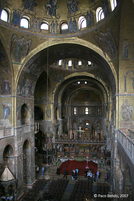 Interior de San Marco. © Paco Bellido, 2007