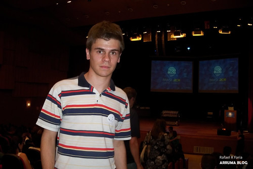 FOTO: Eu (Rafa) no TopBlog 2011
