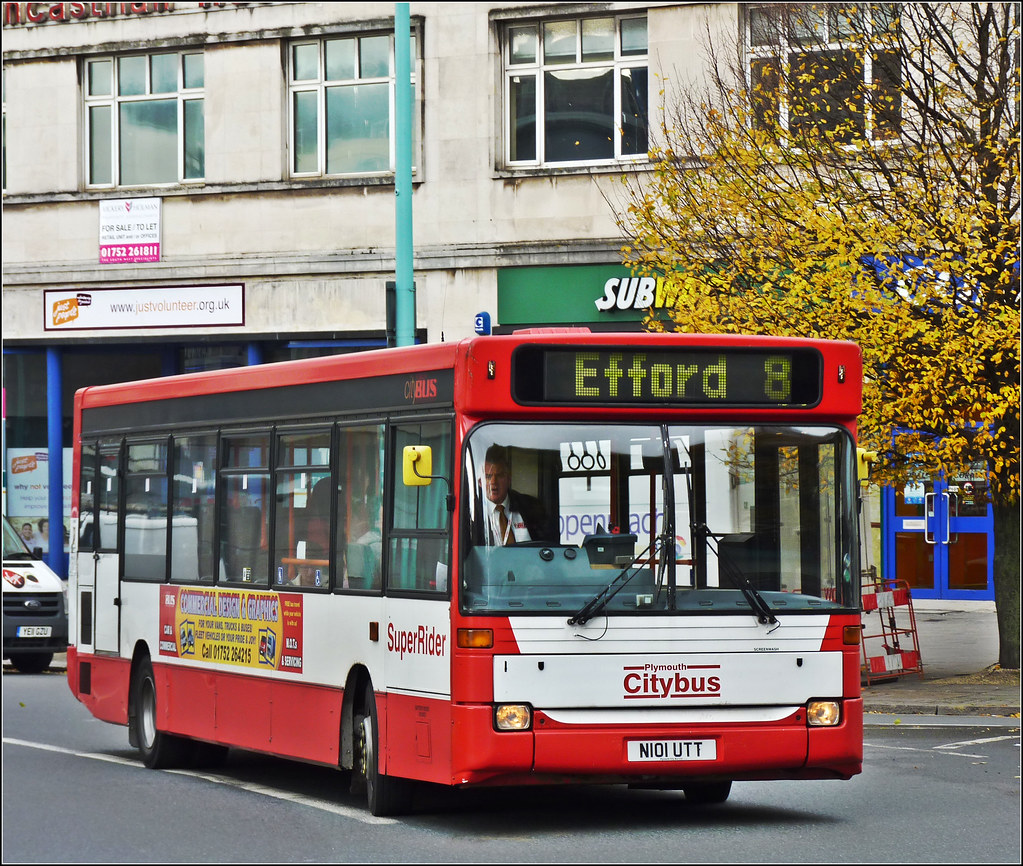 Plymouth Citybus 001 N101UTT