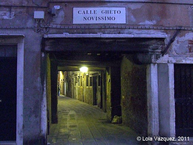 Un callejón del Ghetto. © Lola Vázquez, 2011