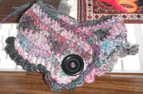 cowlette - freeform crochet
