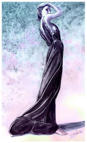 Fashion Illustration-Paola de Orleans