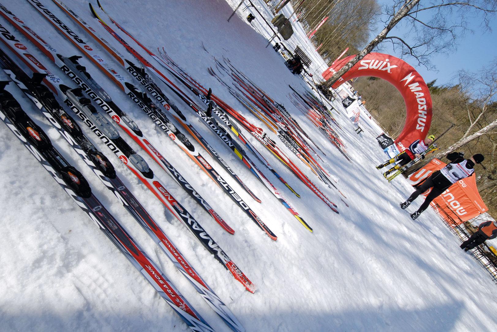 Test běžeckých lyží 2011/12