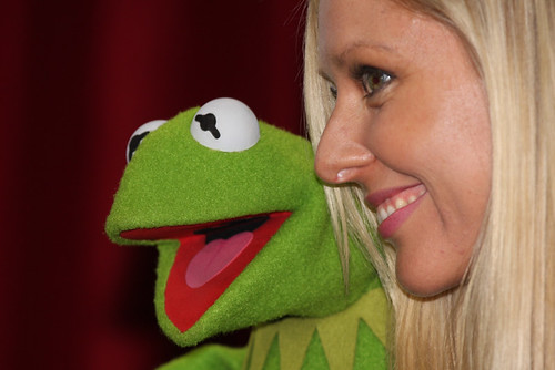 Kermit The Frog by Eva Rinaldi Celebrity and Live Music Photographer