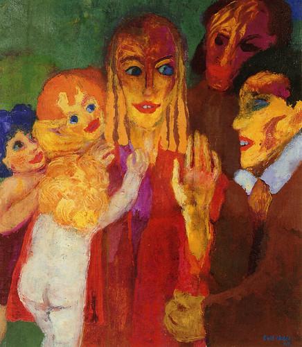[ N ] Emil Nolde - Si vous ne redevenez comme des enfants (1929) by Cea.