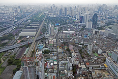 View from  Baiyoke Tower II