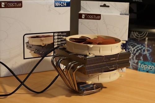 Noctua NH C14   žemo profilio CPU aušintuvas