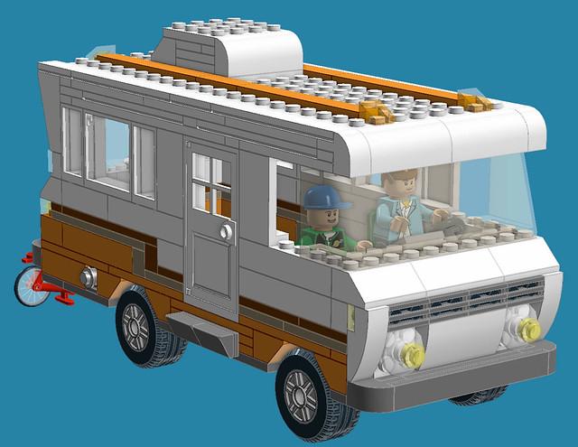 Custom Build - Luxurious Class A Lego Motorhome [CC] - YouTube