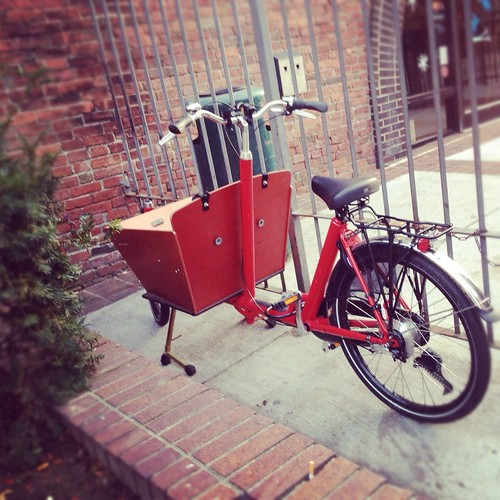 Bakfiets, Somerville MA