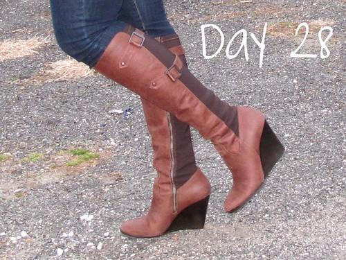Livingaftermidnite - shoe challenge day 28
