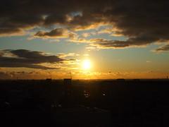 Cloudy Sky & Rising Sun