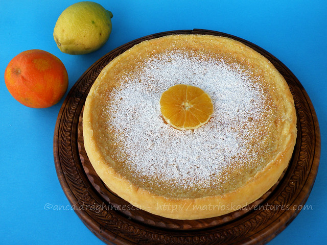 Immagine torta Cheesecake cocco arance limone