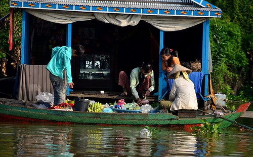 Morning Floating Market