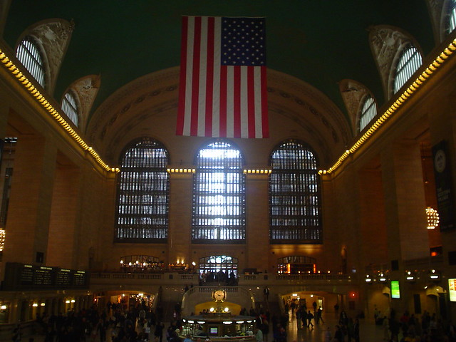 interior of the grand central terminal in new york city usa