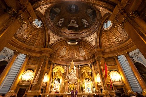 Visita a la Basílica de Nuestra Señora del Pilar de Zaragoza