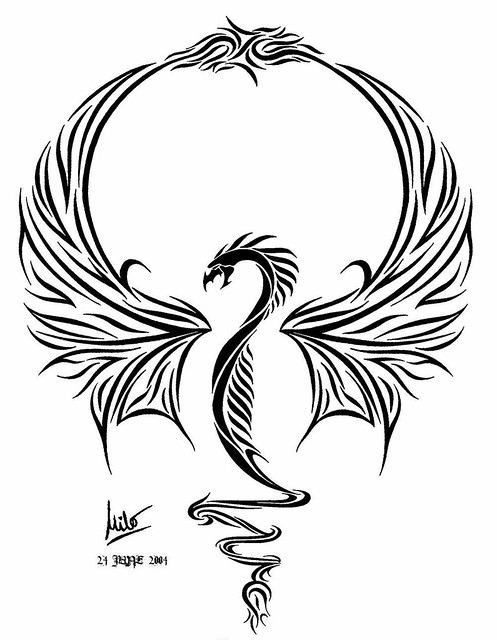 dragon tattoos for girls