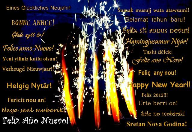 Año nuevo 2012!