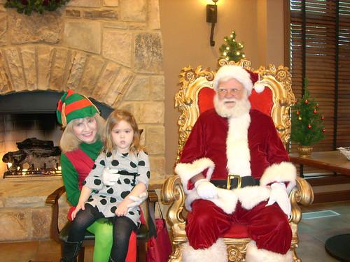 Santa pic Hannah
