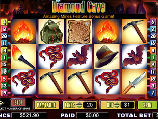 Diamond Cave slot game online review