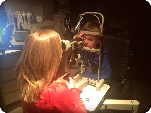 First Eye Exam by Joe Jon!