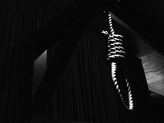 [フリー画像素材] 物・モノ, 縄・ロープ, モノクロ ID:201210080400