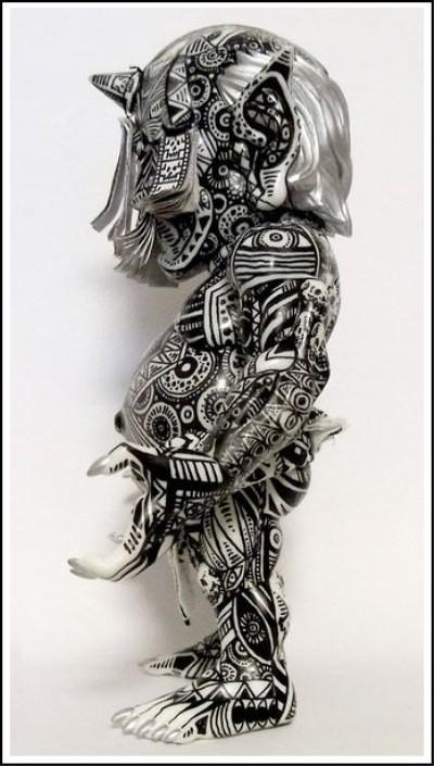 RESTORE DEBRIS Custom by Skull Toys