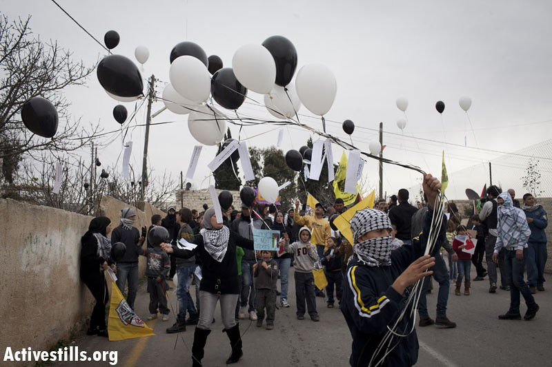 Demonstration against the occupation, Nabi Saleh, West Bank. 30.12.2011 on Flickr
