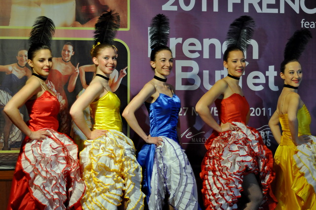 Cancan Girls French Food Festival Marco Polo Plaza Cebu