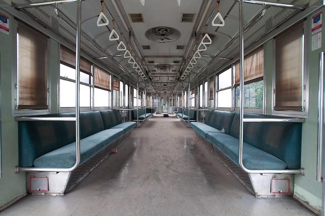 KAI Seri103 JR東日本103系 E20 車内