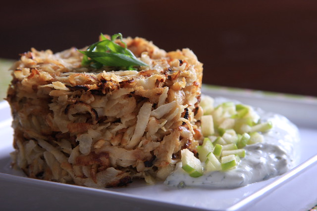 Celery Root Hashbrowns
