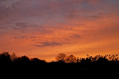 Sunset, Falmouth, New Year's Day 2012 by Tim Green aka atoach