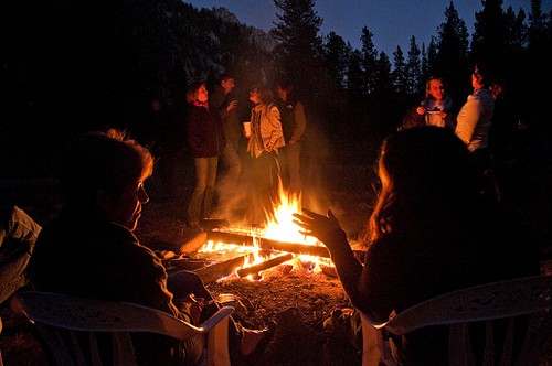Enjoy the fun around our campfires and cookouts at the ranch